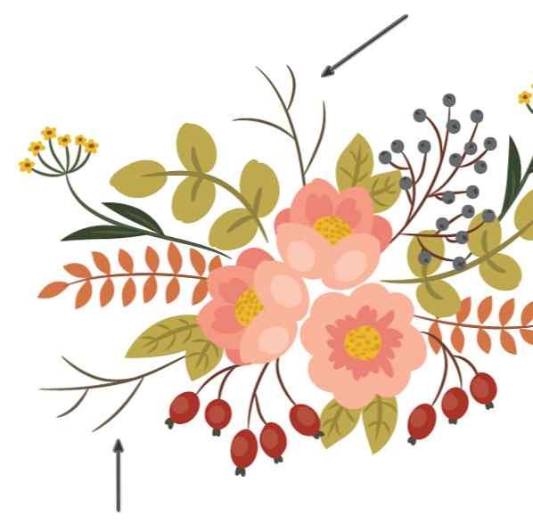 Comment Creer Une Peinture D Arrangement Floral Vintage Dans Adobe Illustrator Design Et Illustration Developpement De Sites Web Jeux Informatiques Et Applications Mobiles