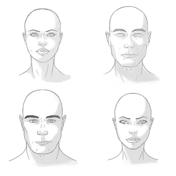 Gesicht frau maskulines Wann bevorzugt