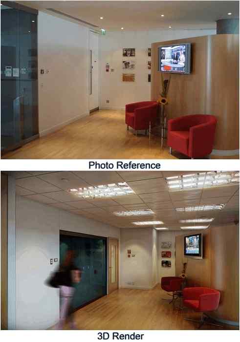 Raggiungere Il Realismo 3d Area Di Ricezione Render Con 3d Studio Max V Ray Parte 2 Grafica 3d E Motion Sviluppo Di Siti Web Giochi Per Computer E Applicazioni Mobili