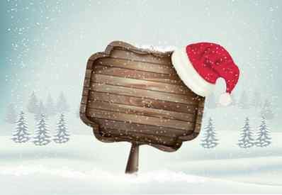 Come Disegnare Un Paesaggio Invernale Di Natale Con Un