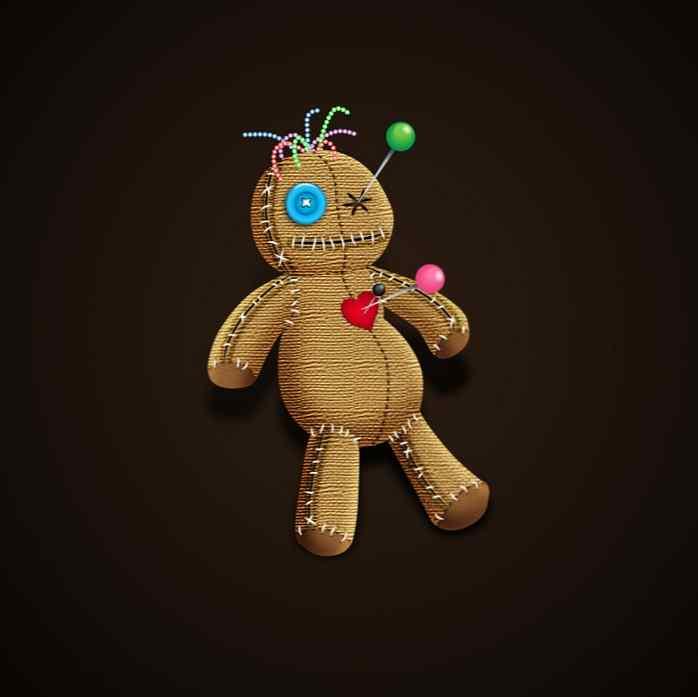 Come Creare Una Bambola Voodoo Spettrale In Adobe Illustrator Design E Illustrazione Sviluppo Di Siti Web Giochi Per Computer E Applicazioni Mobili